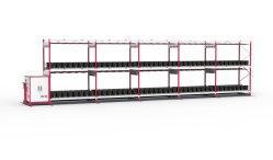 De mobiele BinnenVerticaal kweekt Systeem van de Installaties van het Systeem van het Rek Hydroponic voor Meijiu
