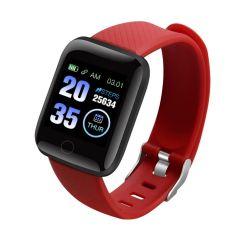 116plus kleiner als $6.7/PCS kundenspezifische Bluetooth Sport-Eignung-intelligente Handgelenk-Puls-Monitor-Blutdruck-intelligente Armbänder als Form-Geschenk