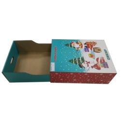 Personalizar o papel Kraft Caixa Gaveta dons de embalagem