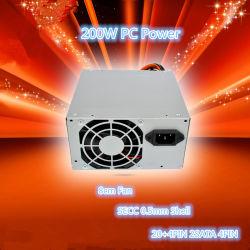 Het Hete Verkopen van de Levering van de Macht van PC 200W 20+4pin voor de Desktop van de Computer