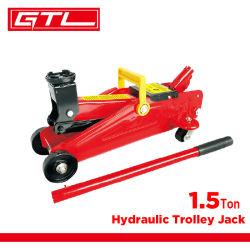 1.5トンのトロリー頑丈な水平油圧トロリー車ジャック(38400801)