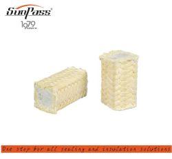 L'aramide fibre d'emballage en fibre de verre en PTFE Core