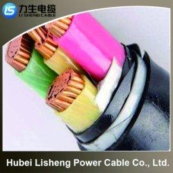 Кв 0.6/1облучение XLPE изоляцией полиолефиновых пламенно Low-Smoke Halogen-Free Flame-Retardant Fire-Resistant кабель питания для промышленной системы (YJV 2*2.5)