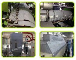 Isolamento termico a temperatura elevata per il riscaldatore, i tubi, le valvole & più