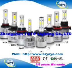 Yaye 18 보장 2 년을%s 가진 최신 인기 상품 경쟁가격 H1/H3/H4/H7 /9005/H11/H13/9006/9012 차 LED 헤드라이트 빛 LED 빛