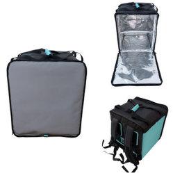 Расширяемый водонепроницаемый пицца горячих блюд выполните охладитель рюкзак сумки мотоцикл тепловой изоляцией мешки для доставки продовольствия