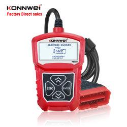 Machine van de Test van het Kenmerkende Hulpmiddel van Konnwei Kw309 de AutoOBD2 voor Alle Auto's Ms309