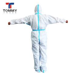 2021 Hot Venda para venda por grosso não tecidos Vestuário de protecção microporosa descartáveis