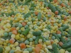 Usine, Shandong Fangxin Food, IQF légumes mélangés congelés, grains de maïs doux, pois verts, morceaux de haricots verts, carotte, Légumes surgelés, aliments surgelés