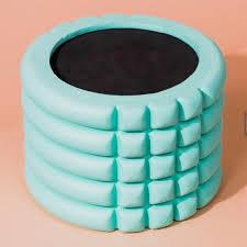 Logotipo personalizado de goma suave fitness gimnasio de espuma EVA de nuevo el equipo de la cintura masaje de cuerpo muscular ejercicios de relajación Yoga grande rodillo Sport