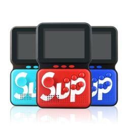 Retro Mini Handheld Sup videoconsola portátil de 8 bits de color LCD color de los niños integrados de juego en directo de fábrica de Reproductor de 400 juegos