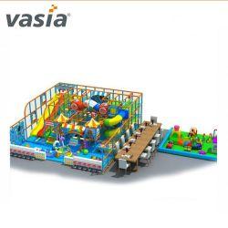 Les enfants de l'équipement électrique d'activité de terrain de jeux intérieur