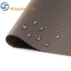 Impermeable transpirable de PU/PA/plano recubierto de PVC y poliéster Ripstop nylon Oxford Oxford tejido acrílico para las bolsas de tela o tiendas