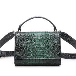 الصين بيع بالجملة تصميم نمو تمساح نساء جلد حق رفاهية عادة كتف رسول حق