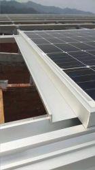 نظام التثبيت الشمسي ذو حل السقف المسطح حامل اللوحات الكهروضوئية الشمسية