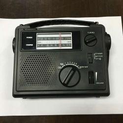 Am/FM multifonction/radios météo NOAA+Manivelle Chargeur de téléphone cellulaire+lampe de poche