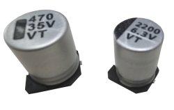 Condensatori elettrolitici di alluminio del chip di bassa impedenza