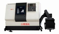 Высокая точность металлических Токарный обрабатывающий центр с ЧПУ окраску кровать токарный станок с ЧПУ (CK15)
