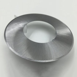 穏やかな鋼鉄布の刃物の回状アルミニウムを切り開き、整える