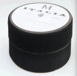 Fascette ferma-cavo adesive magiche di nylon della cinghia di nastro dell'amo del poliestere e del fermo del ciclo per gli accessori degli indumenti