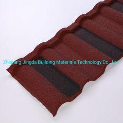 チャド・ドミニカ、アルミ製屋根材モロッコソマリアの低価格化を実現 テラコッタ屋根タイルガンビア色石コーティングスチール屋根タイル