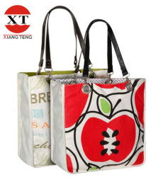 Cotton Canvas Shopping Promotional Gift Tote Bag (FLYDL1001)