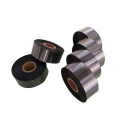 Textilkleid-Kennsatz-Druckenzebra-Drucker-Schwarz-Wäsche-thermisches Tinten-Farbband