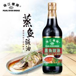 Pearl River Bridge (het toonaangevende merk Soy Saus) Gekruide sojasaus voor zeevruchten 500 ml voor het koken van voedsel
