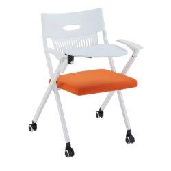 Vendita diretta in fabbrica di mobili per ufficio di alta qualità Bracciolo fisso sedia da ufficio pieghevole e resistente