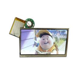 중국 공급자 7 인치 디지털 오디오 카드 LED 영상 스크린 선수 인사장 디지털 사진 프레임 단위