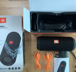 Jblフリップ4無線Bluetoothの小さい携帯用スピーカー音楽可聴周波Ipx7は低音チャネルFlip4を防水する