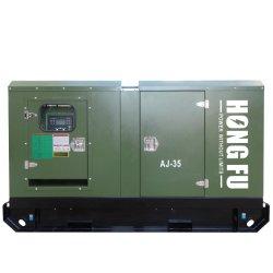 مولد محرك الديزل منخفض السرعة 135كيلوفولت أمبير Lovol من النوع الصامت Electric تم إنشاء مجموعة