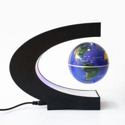LED를 가진 선물을%s C 모양 자석 공중에 뜨게 하는 지구