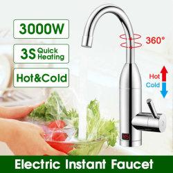 Torneira elétrica Torneira Torneira do aquecedor de água Instantânea Aquecimento instantâneo Tankless Torneira Aquecedor de água de torneira da cozinha equipada