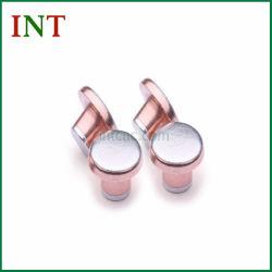 Серебристый биметаллической пластины Agcu электрические контакты