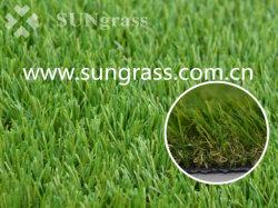 Paisaje de 35mm/sintéticos o artificiales/ocio/PET/Verde/Astro/Turf/Escuela pasto para la decoración del hogar