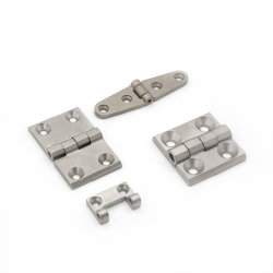 Ferragens de aço inoxidável 304 201 316 As dobradiças da porta