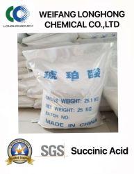 Het barnstenen Zuur wordt gebruikt als Acidifier en pH Verbeteraar in de Industrie van het Voedsel/Goede Kwaliteit/Hete Verkoop