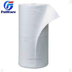 100%PP PP industriais de controle de derramamento de óleo não tecidos compressas absorventes