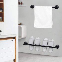 Metalen Single Towel Bar Bathroom Accessories 5 PCS Set