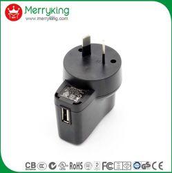 UNIVERSALE 100-240VCA 5V 0,3A 0,5A 0,8A 1A 1,2A 1,5A 2A Alimentatore CC caricabatteria USB da parete