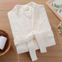 Écologique Terry Peignoir forme kimono de coton