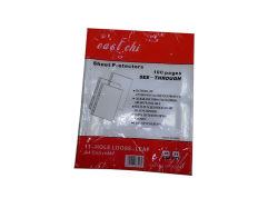 Protecteurs de feuille de couverture de livre avec couvercle transparent étanche Papier de couverture de livre