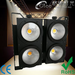 4*100W 400W RGBWA+UV 6en1 LED de la COB Blinder