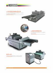 Impressão de tela máquina de secagem UV para Komori impressora offset TM-UV-F3