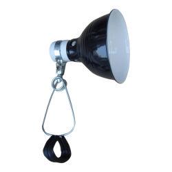 UL 60W 5.5 Zoll-Lampenschirm-Reptil-Schelle-Lampen-Reptilterrarium-Wärme-Lampen-Schelle-Licht-Reflektor
