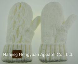 Neue Form-Frauen strickten Handschuhe (HY17071510/HY17071508/HY17071509)