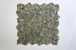 Pedra Natural irregulares de Mosaico para a decoração de paredes