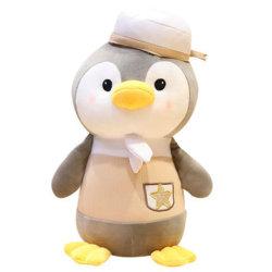 25-45cm Soft recheadas de brinquedos para bebés de pelúcia Hot vender adorável pinguim permanente com HAT