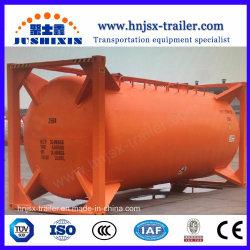 Ciment en vrac/FARINE/charbon/plâtre/l'hexafluorophosphate de lithium/plastiques de granules de ciment en vrac conteneur ISO de réservoir